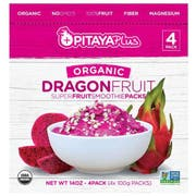 Pitaya Plus Organic Dragon Superfruit Smoothie Pack, 3.55 Ounce Pack -- 60 per case