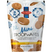 Daelmans Honey Mini Stroopwafel - Stand Up Pouch, 5.29 Ounce -- 10 per case.