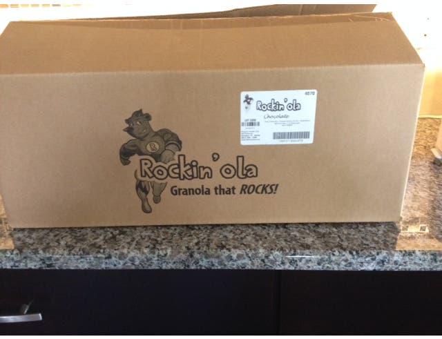 Rockinola Chocolate Granola, 28 Gram -- 250 per case.