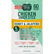Mighty Spark Food Co Honey Jalapeno Chicken Snack Stick, 4 Ounce -- 8 per case