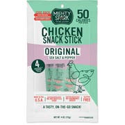 Mighty Spark Food Co Original Chicken Snack Stick, 4 Ounce -- 8 per case