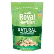 Royal Hawaiian Orchards Natural Macadamia Nuts, 4 Ounce -- 6 per case