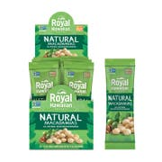 Royal Hawaiian Orchards Single Serve Natural Macadamia Nuts, 1 Ounce - 12 count per pack -- 6 packs per case