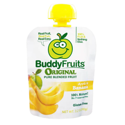 Buddy Fruits Originals Banana Blended Fruit, 3.2 Ounce -- 18 per case.