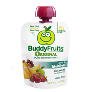 Buddy Fruits Originals Multifruit Blended Fruit, 3.2 Ounce -- 18 per case.