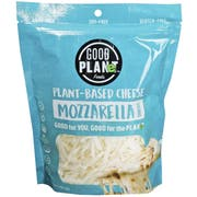 Good Planet Foods Plant Based Mozzarella Cheese Shreds, 7 Ounce -- 12 per case