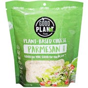 Good Planet Foods Plant Based Parmesan Cheese Shreds, 5 Ounce -- 12 per case
