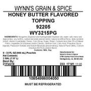 Wynns Grain and Honey Butter Topping -- 8 per case.