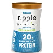 Ripple Foods Vanilla Protein Powder, 14.3 Ounce -- 4 per case