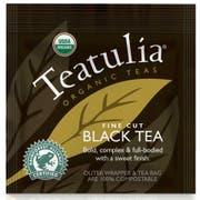 Teatulia Organic Wrapped Standard Black Tea -- 24 per case