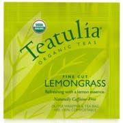 Teatulia Organic Lemongrass Wrapped Standard Tea -- 50 per case