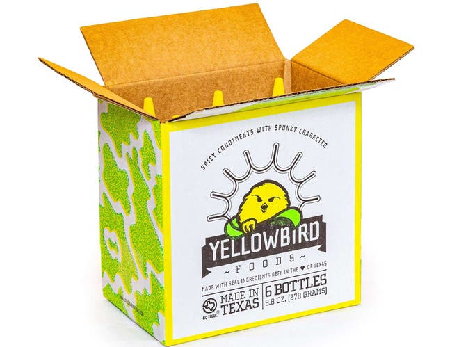 Yellowbird Serrano Condiment Sauce, 9.8 ounce -- 6 per case