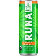 Runa Blood Orange Energy Drink, 12 Ounce -- 12 per case