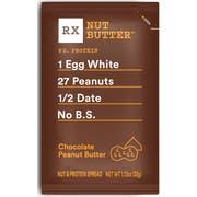 Rxbar Chocolate Peanut Butter Spread, 0.071 Pound -- 60 per case