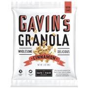 The Safe Plus Fair Food Gavins Cinnamon Granola, 1 Ounce -- 192 per case
