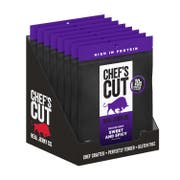 Chefs Cut Sweet and Spicy Smoked Beef Jerky, 2.5 Ounce -- 8 per case.