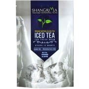 Shangri La Organic Natural Black Iced Tea, 6 count per pack -- 12 per case.