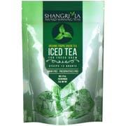 Shangri La Organic Tropical Green Iced Tea, 6 count per pack -- 12 per case.