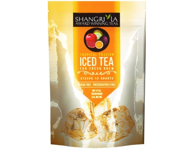 Shangri La Tropical Passion Iced Tea, 6 count per pack -- 12 per case.