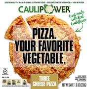 Caulipower 10 inch Three Cheese Cauliflower Pizza Crust , 11.6 Ounce -- 8 per case.