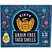Siete Grain Free Taco Shells, 5.5 Ounce -- 12 per case