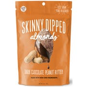 Skinny Dipped Almonds - Dark Chocolate and Peanut Butter, 3.5 Ounce -- 10 per case.