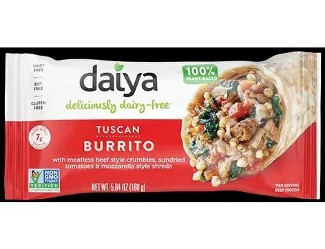 Daiya Tuscan Burrito, 5.64 Ounce -- 12 per case.