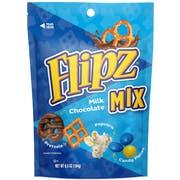 Flipz Milk Chocolate Snack Mix, 6.5 Ounce -- 8 per case