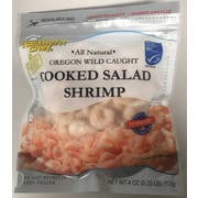 Northern Chef Oregon Wild Caught Cooked Salad Shrimp, 4 Ounce -- 24 per case