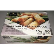 Royal Asia Vegetable Spring Roll, 50 pieces per pack -- 16 per case