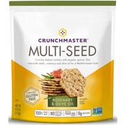 Crunchmaster Rosemary and Olive Oil Multi Seed Cracker, 4 Ounce -- 12 per case.