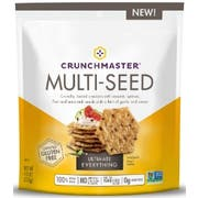 Crunchmaster Ultimate Everything Multi Seed Cracker, 4 Ounce Bag -- 12 per case