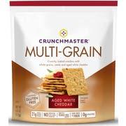 Crunchmaster White Cheddar Multi Grain Cracker, 4 Ounce -- 12 per case.