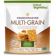 Crunchmaster Multigrain Crackers Garden Vegetable, 4 Ounce -- 12 per case