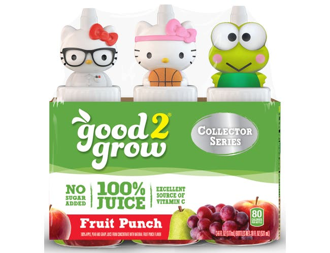 good2grow 100 Percent Fruit Punch Juice, 6 Ounce -- 12 per case.