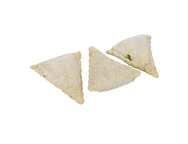 Monsoon Kitchens Small Spinach and Cheese Samosa, 4 Pound -- 2 per case.