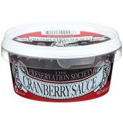The Preservation Society Cranberry Sauce, 6.5 Ounce -- 6 per case