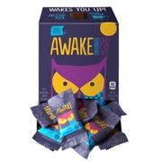Awake Singles Caffeinated Dark Chocolate Bites, 0.48 Ounce -- 300 per case.