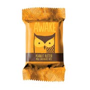 Awake Singles Caffeinated Peanut Butter and Chocolate Bites, 0.58 Ounce -- 300 per case.