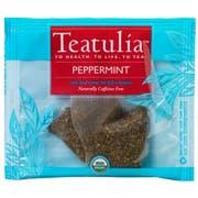 Teatulia Organic Peppermint Premium Pyramid Tea -- 50 per case