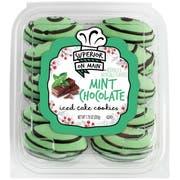 Hostess Superior on Main Mini Mint Chocolate Iced Cookie, 7.75 Ounce -- 12 per case