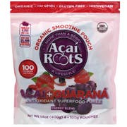 Acai Roots Organic Premium Acai Guarana Smoothie, 14 Ounce -- 64 per case