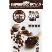 Cacao Roots Organic Premium Cacao Nibs, 8 Ounce -- 6 per case.