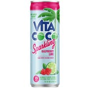 Vita Coco Raspberry Lime Sparkling Coconut Water Beverage, 12 Fluid Ounce -- 12 per case
