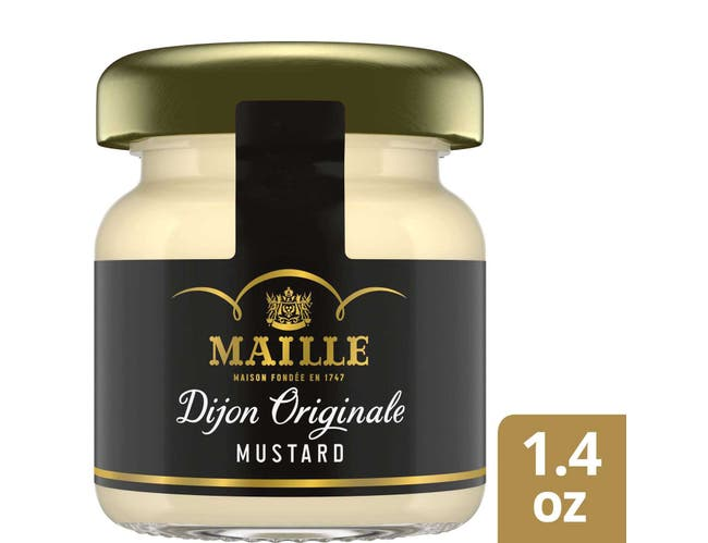 Maille Original Dijon Mustard Mini Jars, 1.4 ounce -- 72 per case