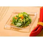 Emi Yoshi Square Wave Plate, 6.5 inch -- 120 per case.