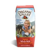 Organic Valley 6.75 Ounce Whole Milk Cartons, 6.75 Fluid Ounce -- 12 per case