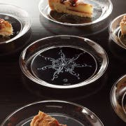 Yoshi Ware Emi Clear Caterers Collection Dinner Plate, 6 inch - 20 per pack -- 12 packs per case.