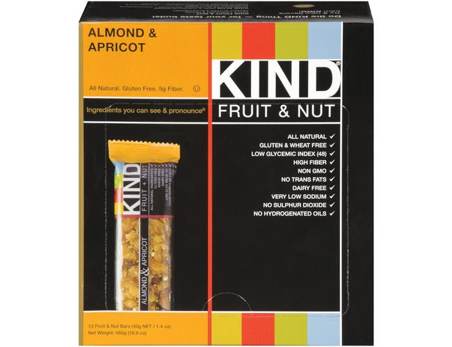 Kind Almond and Apricot Bar, 1.4 Ounce -- 12 per case.