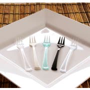 Small Wonders Black Mini Fork, 4 inch -- 500 per case.